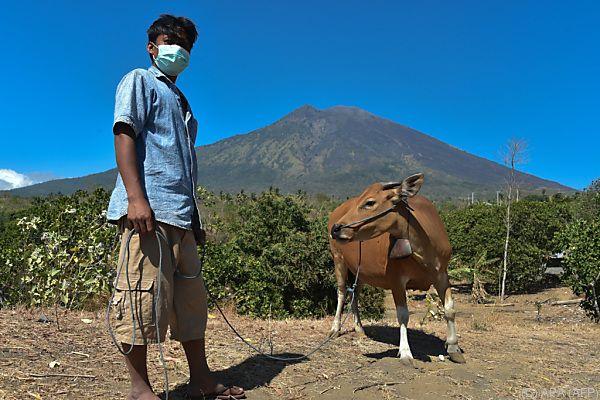 Keiner weiß, ob der Vulkan ausbrechen wird