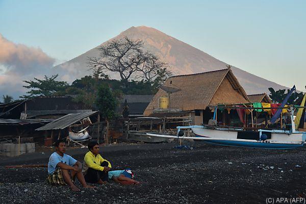 Gunung Agung auf der Insel Bali