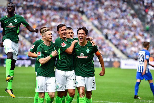 Werder schaffte noch den Ausgleich zum 1:1 durch Delaney