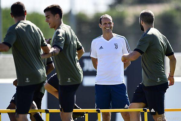 Juve-Trainer Allegri freut sich auf Messi un Co.