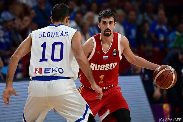 Russland setzte sich gegen Griechenland durch