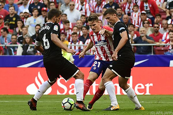 Die Madrilenen setzten sich gegen Sevilla 2:0 durch