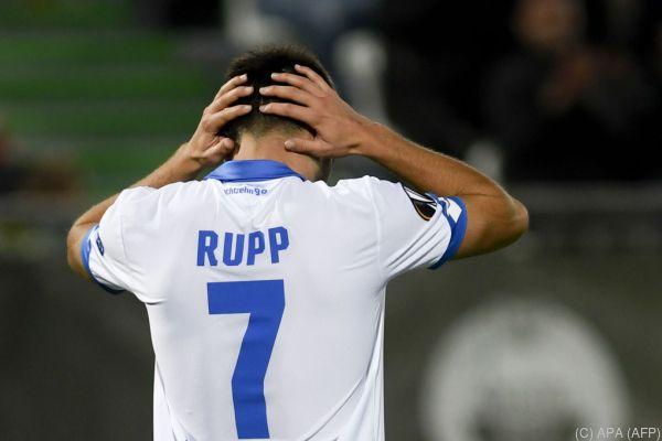 Enttäuschung bei Lukas Rupp