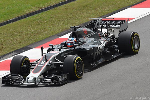 Grosjean blieb bei dem Zwischenfall unverletzt