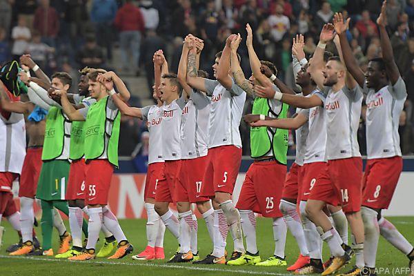 Salzburg will den Schwung aus der Europa League mitnehmen