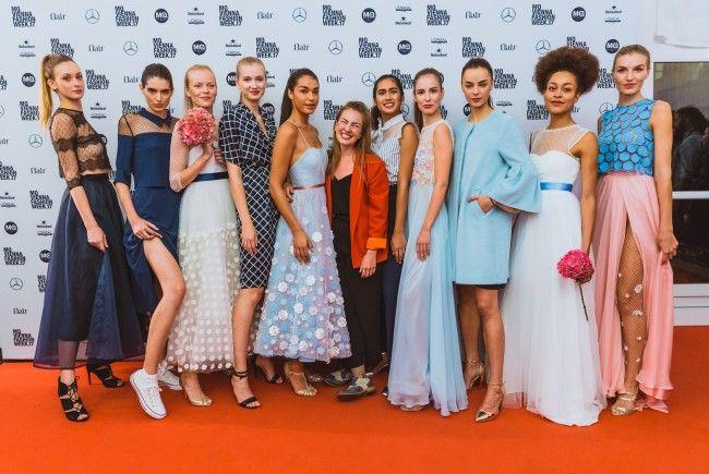 Umwerfende Designs hab es an Tag 4 der Vienna Fashion Week 2017 zu sehen.
