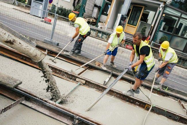 Weitere Gleisbauarbeiten stehen bei den Wiener Linien an