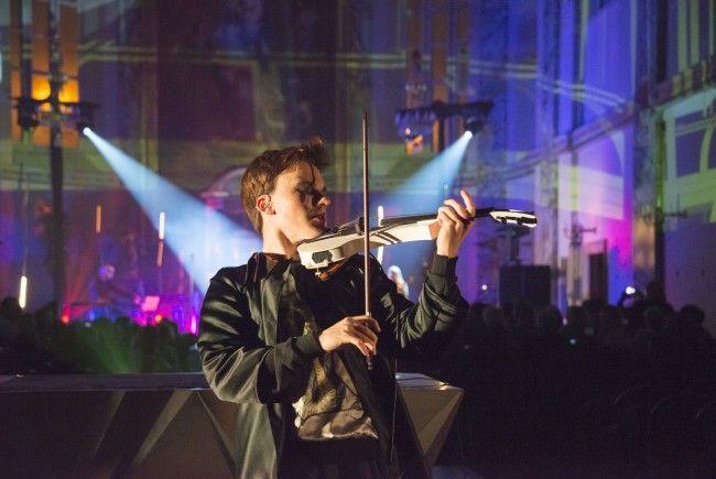 Yury Revich bei der Electric Church-Premiere in Wien