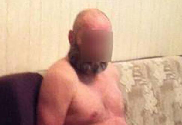 Judo-Doppel-Olympiasieger Peter Seisenbacher bei seiner Festnahme in Kiew