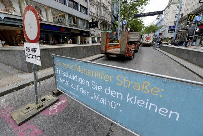 Für Samstag sind auf der Mariahilfer Straße mehrere Versammlungen angemeldet.