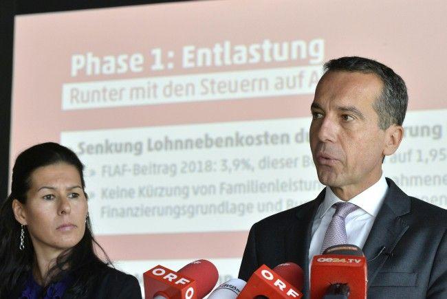 Bundeskanzler Christian Kern hat das Steuerprogramm der SPÖ vorgestellt.