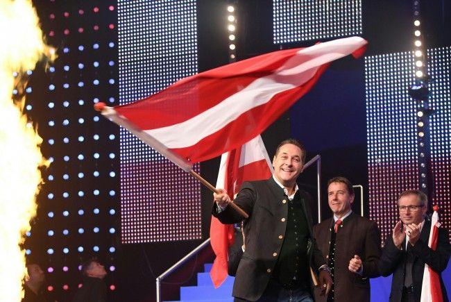 Die FPÖ startete am Samstag in Wels in den Nationalratswahlkampf.