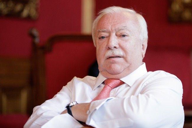 Wiens Bürgermeister Michael Häupl (SPÖ) wird zurücktreten