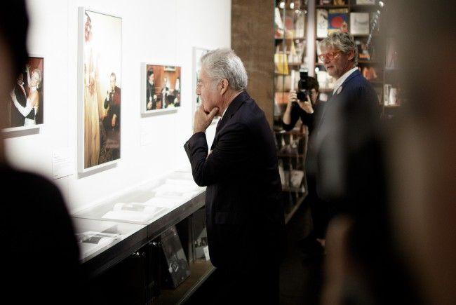 Auch Ex-Präsident Heinz Fischer hatte im WestLicht bereits eine Ausstellung