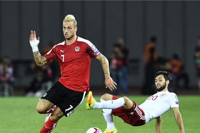 Das österreichische Nationalteam will sich gegen Georgien mit Anstand aus der Affäre ziehen.
