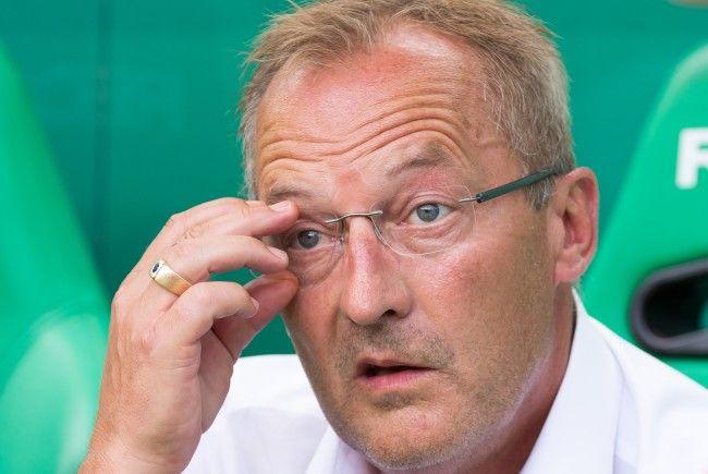 Sportdirektor Fredy Bickel (SK Rapid Wien) äußerte sich über aktuelle Gerüchte