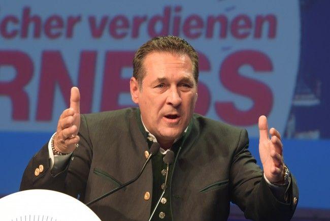FPÖ-Chef Heinz-Christian Strache fasst für seine Person Innen- und Sozialministerium ins Auge.