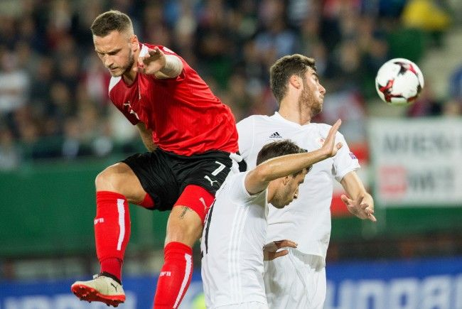 Österreich kam in Wien gegen Georgien nur zu einem 1:1.