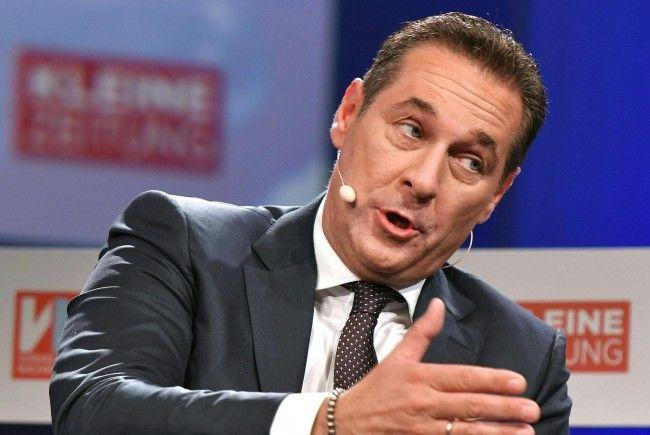 Sollte die FPÖ in der Regierung vertreten sein, will Strache ins Innenressort.