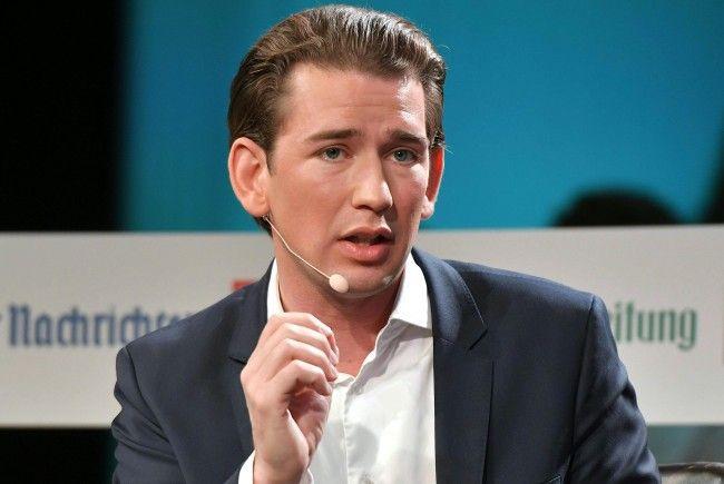 ÖVP-Chef Sebastian Kurz startet in den Intensivwahlkampf.