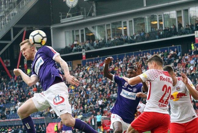 Die Austria trotzte Red Bull Salzburg einen Punkt ab.