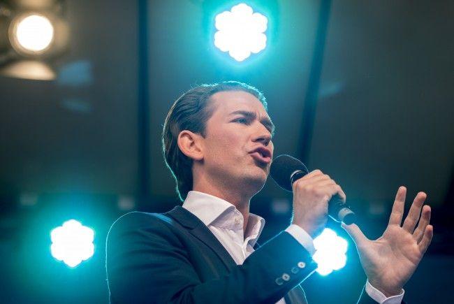 ÖVP-Chef Sebastian Kurz.