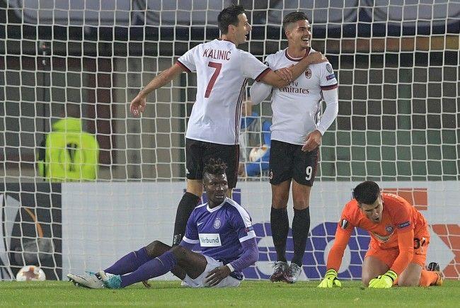 Der AC Milan hatte am ersten Spieltag der Europa-League-Gruppenphase mit der Wiener Austria leichtes Spiel.
