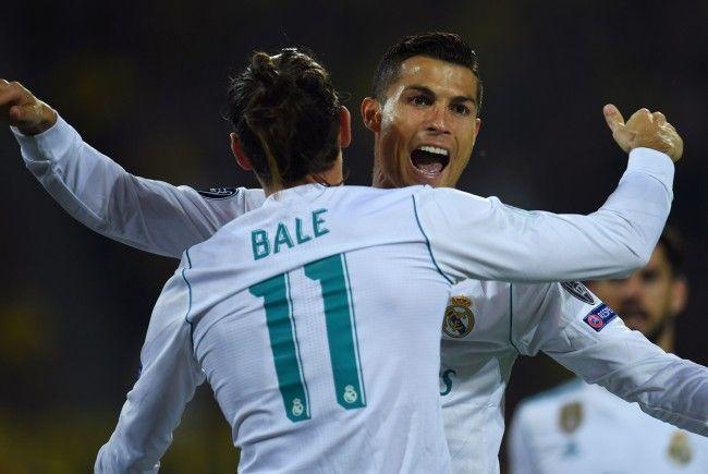 Bale und Ronaldo schossen Real Madrid heute zum Sieg gegen Borussia Dortmund.