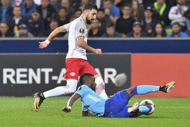 Salzburg-Stürmer Munas Dabbur sorgte gegen Olympique Marseille für die Entscheidung.