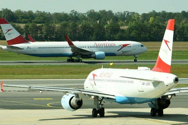 Ein Austrian Airlines Flugeug musste nach Zürich umkehren.