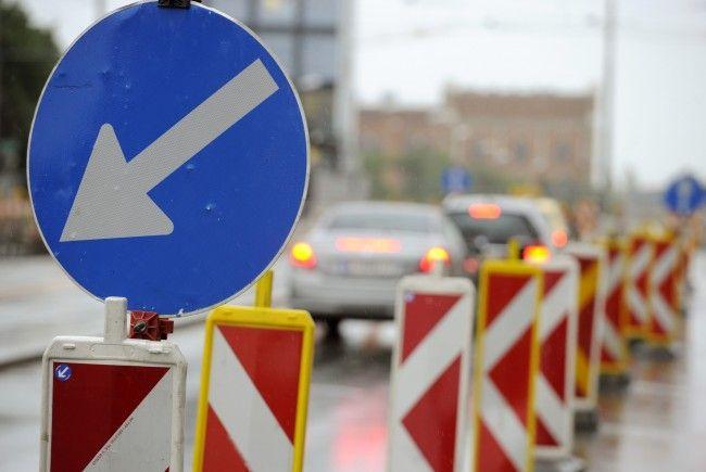 An der Ortsaufahrt Lorüns kommt es ab Donnerstag zu Verkehrsbehinderungen.