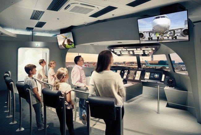Die neue Besucherwelt am Flughafen Wien eröffnet am 5. Oktober 2017.