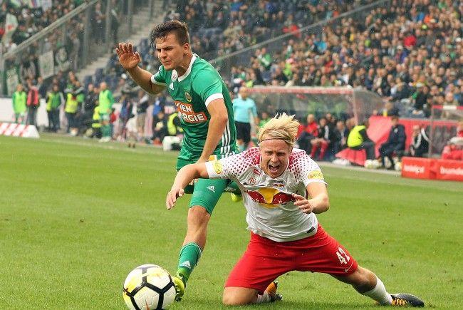 Das Match Salzburg gegen Rapid Wien endete nach einer spektakulären zweiten Hälfte mit 2:2.