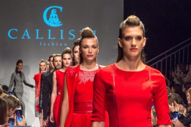 Callisti feierte Jubiläumsshow auf der Vienna Fashion Week.