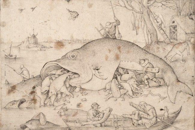 Die Albertina zeigt ihre Bruegel-Bestände.