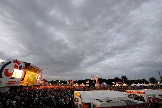 Das 35. Wiener Donauinselfest findet traditionell am letzten Juni-Wochenende statt.