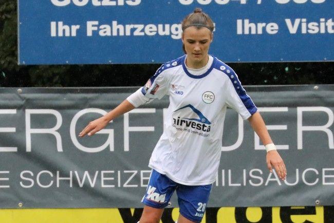 Anna Bereuter fixer Bestandteil im Nationalteam