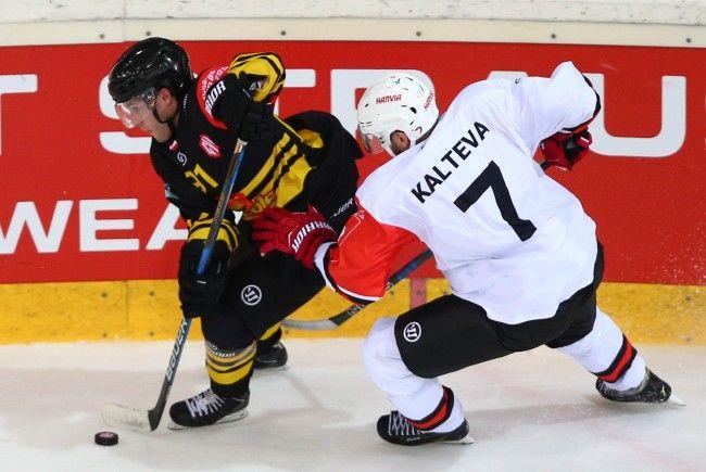 Die Vienna Capitals mussten eine Niederlage einstecken