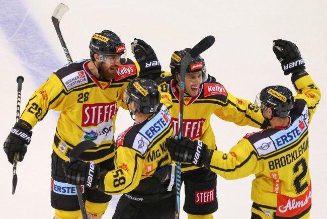 Die Vienna Capitals besiegten die Black Wings Linz.