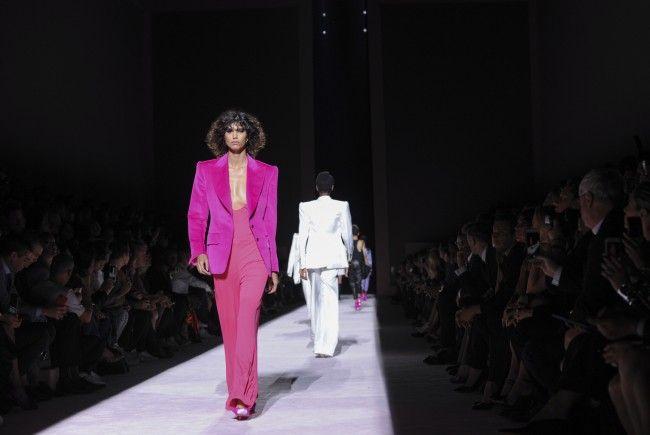 Am Mittwoch kehrte Tom Ford zur Fashion Week in New York zurück.