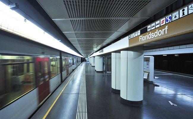 In der U-Bahn-Station Floridsdorf kam es zu einer Festnahme