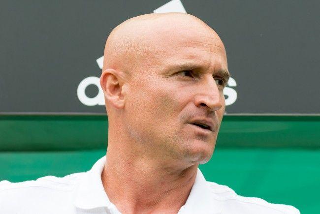 Laut Trainer Trainer Goran Djuricin befindet sich Rapid im Aufschwung.
