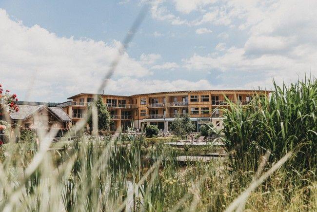 Seit zwei Monaten gibt es ein Vollholzhotel in Niederösterreich.