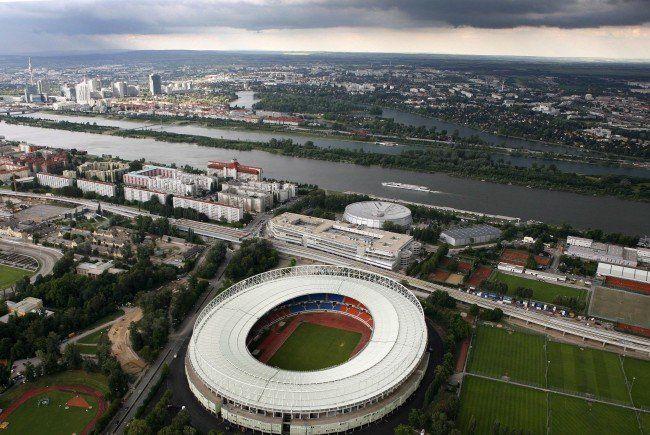 Stau vor dem Europa League Match zwischen Austria Wien und AC Milan in Wien erwartet.