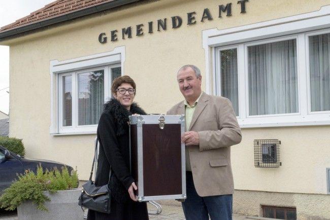 Eine Wahlurne wird das erste Ausstellungsstück im Haus der Geschichte Österreich.