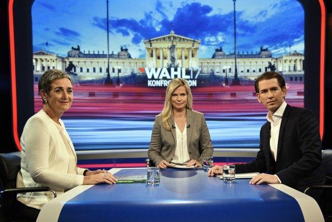 Kurz und Lunacek auch beim zweiten TV-Duell ohne Annäherung.