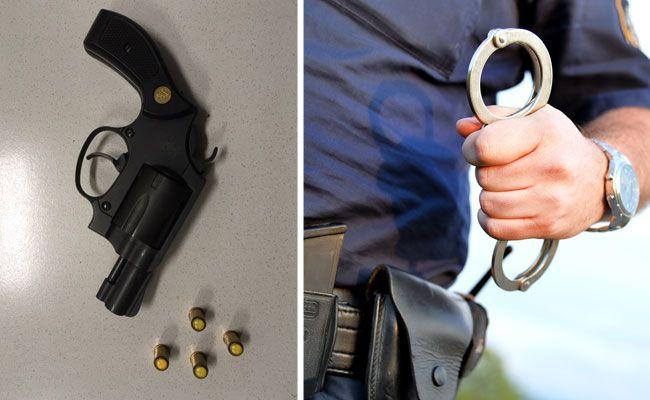 Ein 36-Jähriger bedrohte in Wien-Floridsdorf einen Lokalbesitzer mit einer Gaspistole.