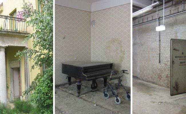 """Historiker und Archäologe La Speranza erforscht die """"Lost Places"""" in Wien."""