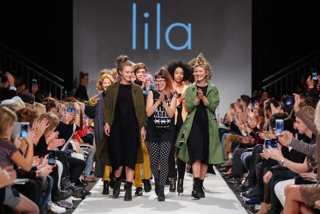 Die österreichische Designerin Lisi Lang konnte mit ihrer Kollektion begeistern