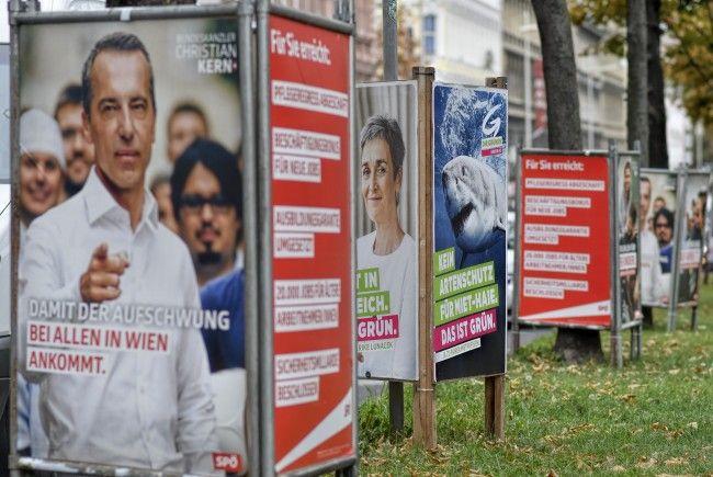 Viele Wähler sind auch im derzeitigen Intensivwahlkampf noch unentschieden